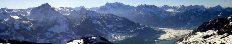 Glarus Nord vom Gulmen