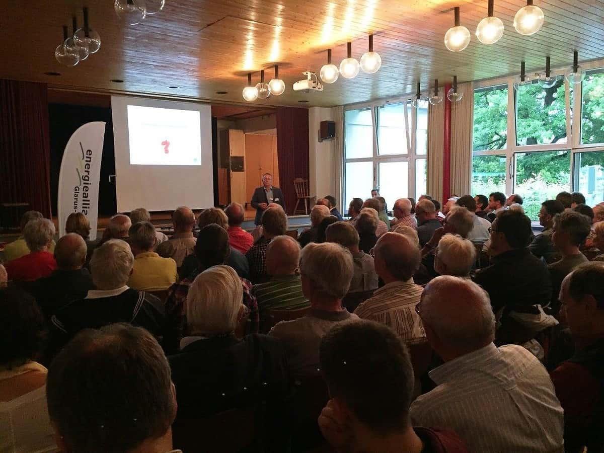 Vortrag Projekt Felsenstrom am Walensee
