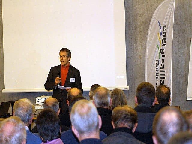 Begrüssung durch den Präsidenten der Energieallianz, Jürg Rohrer