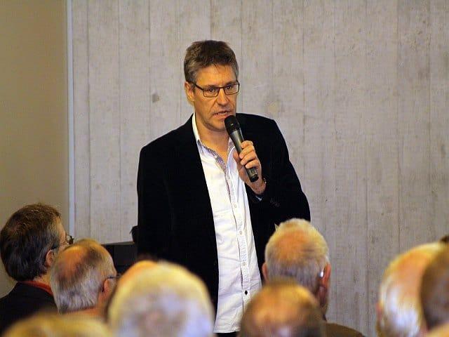 Referent Christian Frei von Electrosuisse