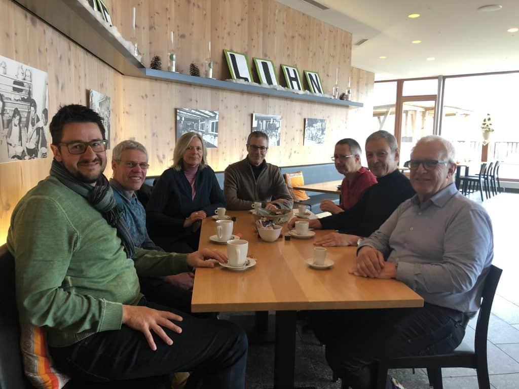 Vorstand Energieallianz Linth Kaffee