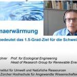 Klimakrise: Video zum 1.5 Grad Ziel der Schweiz